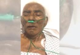 """COMOVENTE: Em leito de hospital, Pinto do Acordeon grava vídeo com filho e diz: """"Eu sou um milagre"""" – ASSISTA"""