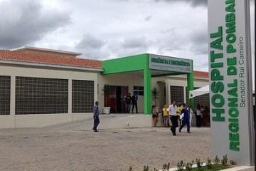SEM VAGAS: leitos do Hospital Regional de Pombal tem 100% de ocupação com pacientes da Covid-19