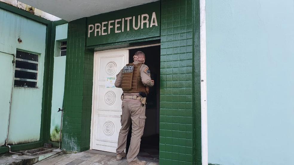 prefeitura de alhandra operacao - OPERAÇÃO ESTIRPE: Polícia Federal e Gaeco cumprem mandados contra desvio de dinheiro na prefeitura de Alhandra
