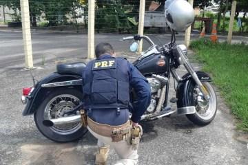 prf moto - Motocicleta roubada e avaliada em R$ 32 mil é recuperada por policiais rodoviários federais na Paraíba