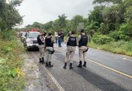 Corpo é encontrado no acostamento de rodovia em Jacarapé, em João Pessoa