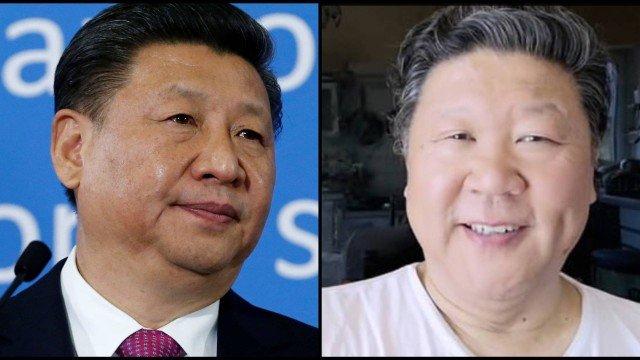 xxiu jinping e liu keqing.jpg.pagespeed.ic .uPn lq7aP6 - Cantor de ópera é bloqueado no TikTok por se parecer com presidente chinês - VEJA VÍDEO