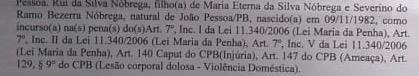 ndiceikol - Candidato a vereador do Patriota, cabo da PM é preso por espancar amante e será enquadrado na Lei Maria da Penha