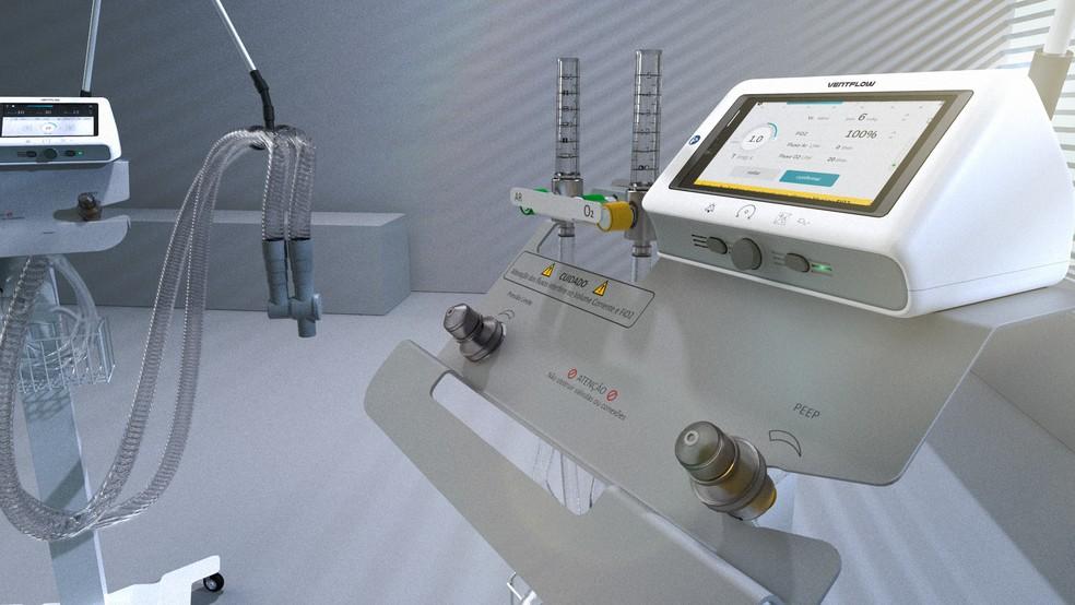 1 3 - Empresa brasileira vai produzir ventilador pulmonar desenvolvido pela Nasa para tratamento da covid-19