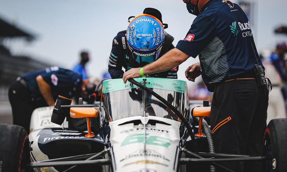1018187644 lat 20200813 cantrell indy500 0820 03103 - Alonso mais uma vez se apresenta mal em Indianapolis e se vê com poucas chances de conquistar a tríplice coroa do automobilismo