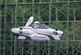 Com lançamento previsto para 2023, carro voador japonês tem sucesso em teste