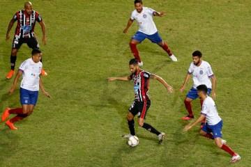 Alagoinhas segura empate com Bahia no primeiro jogo da final