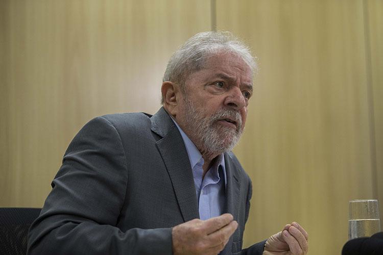 55323a1cd5584df882160234dec6f45b - Quem tem de se preocupar com Moro é Bolsonaro, diz Lula