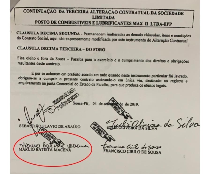 B - Candidato a prefeito de Triunfo estraria usando laranja para representar empresas de parentes e aliados em licitações no município