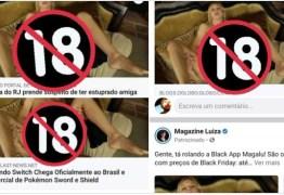 Erro no Facebook exibe imagem pornô em links compartilhados