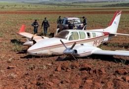 PF e FAB apreendem mais de 1 tonelada de cocaína em avião; Dois pilotos foram presos