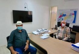 Jeová se reúne com secretário de saúde da PB para elogiar ações de combate a pandemia e pedir implantação do teste do pezinho ampliado