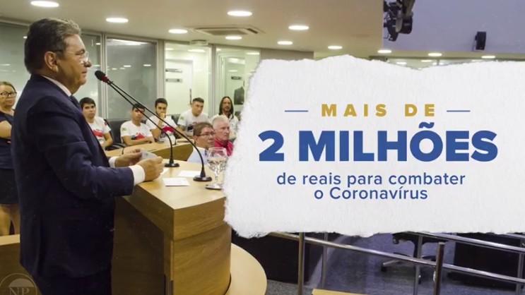 GALDINO - Assembleia faz balanço de ações contra a Covid-19: R$ 2 milhões foram investidos; VEJA VÍDEO