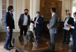 Governador recebe representantes do Ministério do Turismo e discute investimentos no Polo Turístico Cabo Branco