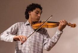 Violonista baiano é aprovado para estudar na Bélgica e faz vaquinha virtual para viajar