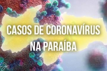 Paraíba passa de 95,5 mil casos de Covid-19 e registra mais 4 mortes em 24 horas