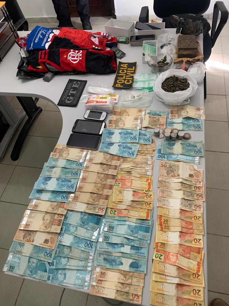 WhatsApp Image 2020 08 19 at 11.30.03 - 'Operação Lavras' combate o tráfico de drogas e desarticula grupo que praticava roubos Esperança e Areial