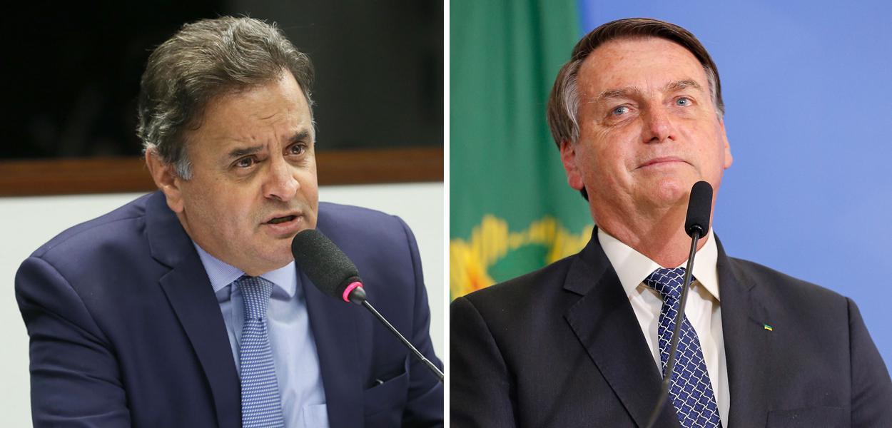 aecio - Aécio Neves adere a Bolsonaro e causa racha no PSDB