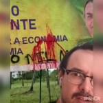 ataque - Escritor paraibano é alvo de ataques virtuais após criticar outdoors de Bolsonaro em João Pessoa - VEJA VÍDEO