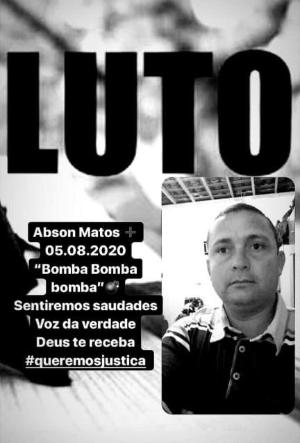 b5e23d78 9051 442d 9aef ea7b0a9a54f5 - 'CRIME POLÍTICO': Homem é executado após fazer denúncias contra o prefeito de Pedras de Fogo - ENTENDA