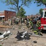 baltimore explosao 660x372 1 - URGENTE: Explosão destrói casas em Baltimore, nos Estados Unidos