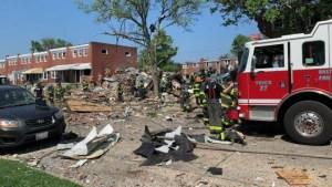baltimore explosao 660x372 1 300x169 - URGENTE: Explosão destrói casas em Baltimore, nos Estados Unidos