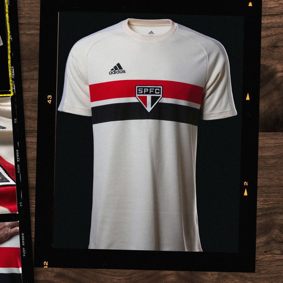 camisa - Confira nova camisa retrô do São Paulo