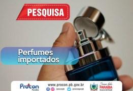 Pesquisa do Procon-PB mostra diferença de R$492,81 no valor de perfumes importados em estabelecimentos de João Pessoa