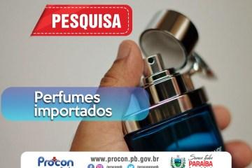 celulares - Pesquisa do Procon-PB mostra diferença de R$492,81 no valor de perfumes importados em estabelecimentos de João Pessoa
