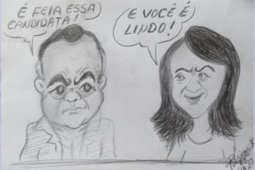 gutemberg e edilma charge - NA ARAPUAN FM: Gutemberg Cardoso afirma ter sido mal intepretado e pede desculpas a Edilma