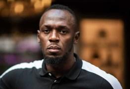 Usain Bolt testou positivo para o novo coronavírus nesta segunda-feira
