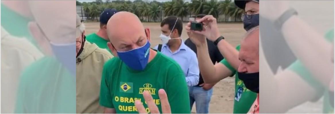luciano hang - TRATAMENTO PRECOCE FALHOU: Empresário bolsonarista Luciano Hang testa positivo para Covid-19 e está internado em SP