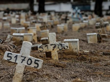 mortrs - Brasil tem 868 novas mortes em 24 h e totaliza 119.594 óbitos por covid-19