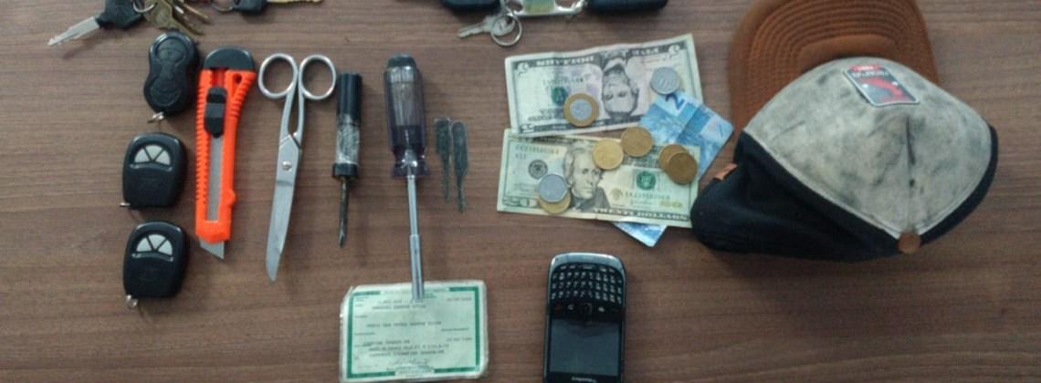 Suspeitos de furtar casas e motos são presos em Campina Grande