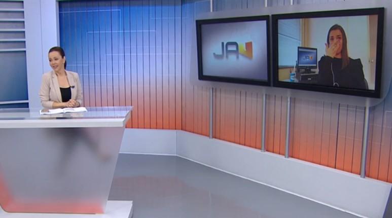 reporter - Repórter da Globo chora ao noticiar morte de casal por coronavírus
