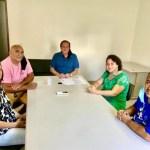vereaora - Vereadora Luciene Gomes recebe apoio de Hervázio Bezerra na disputa pela prefeitura de Bayeux