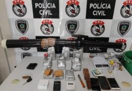 Cinco suspeitos de envolvimento com tráfico de drogas são presos em Campina Grande