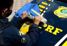 Polícia Rodoviária Federal prende suspeito com maconha após tentativa de fuga na PB