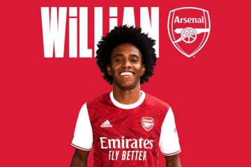 willian - Willian é anunciado como novo reforço do Arsenal