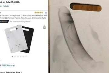 xblog kitchen.jpg.pagespeed.ic .xyXpWCxeU6 - Mulher compra tábua de cozinha e se surpreende com desenho na peça