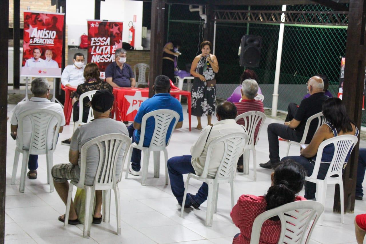 PT de João Pessoa reúne candidatos a vereador em torno de Anísio Maia e Percival Henrique e ratifica candidatura própria