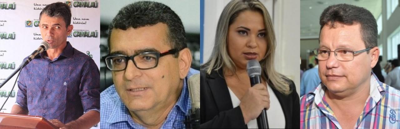 BeFunky collage - Fraude em licitação e Improbidade administrativa: quatro prefeitos paraibanos já foram afastados dos cargos este ano