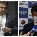 BeFunky collagee - DEBATE ARAPUAN: Ruy e Wallber criticam política de habitação das gestões anteriores em João Pessoa