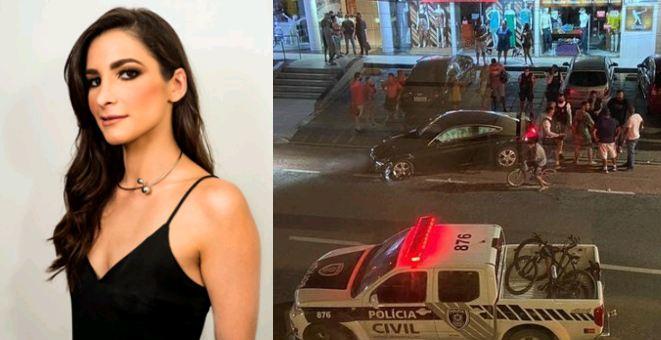 Capturar 17 - Após provocar acidente blogueira Celeste Maia é presa e passa por audiência de custódia nesta segunda-feira; VEJA VÍDEO