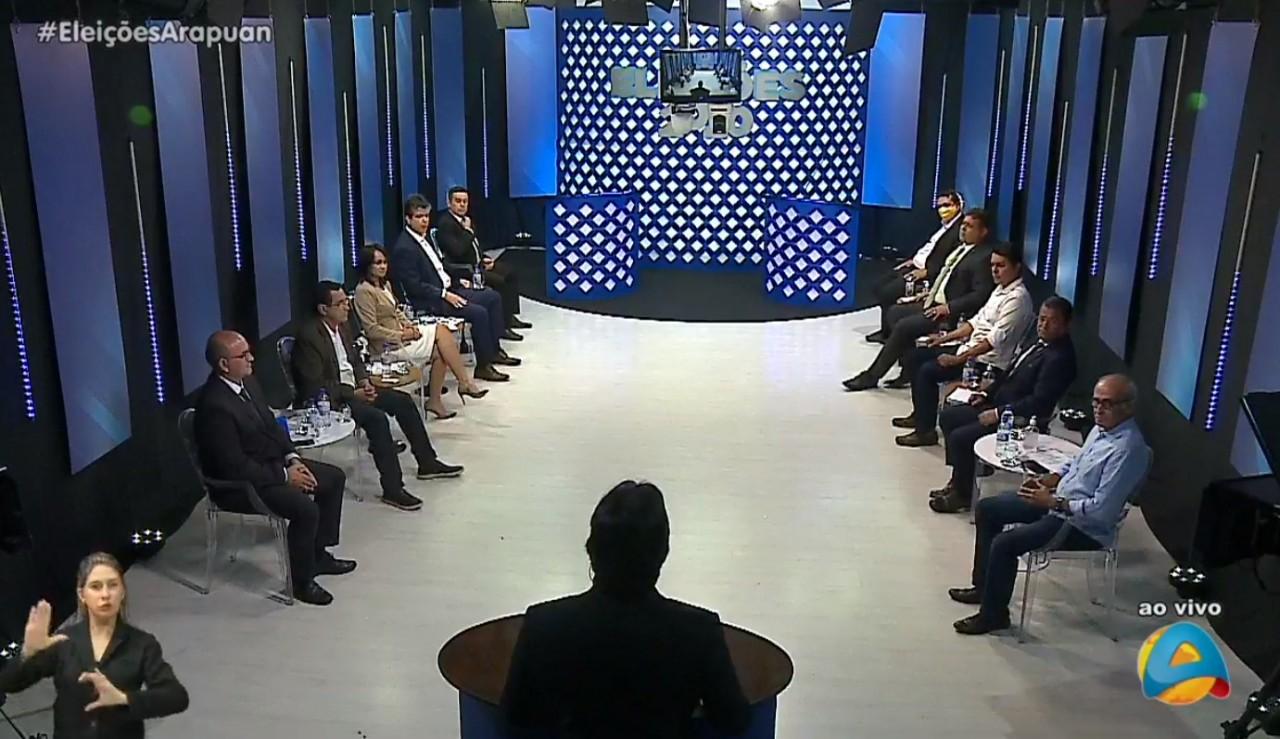 Capturar 26 - TV Arapuan apresenta primeiro debate com candidatos à Prefeitura de João Pessoa - VEJA VÍDEO