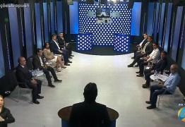 TV Arapuan apresenta primeiro debate com candidatos à Prefeitura de João Pessoa – VEJA VÍDEO