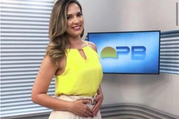 Apresentadora da TV Cabo Branco, Denise Delmiro, anuncia gravidez