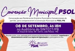 PSOL convoca convenção eleitoral para escolha de candidatos pelo partido