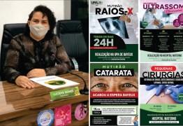 Luciene de Fofinho promove um choque de gestão na Saúde de Bayeux