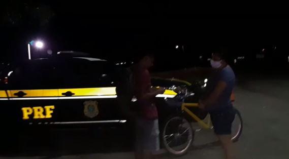 PRF - PRF na Paraíba localiza adolescente de Pernambuco que estava desaparecido - VEJA VÍDEO